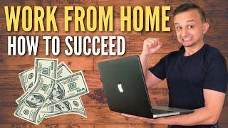 REVEALING MY TOP 10 WORK FROM HOME TIPS! (Study From Home / Productivity Tips)