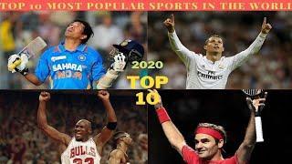 Top 10 most popular Sports 2020 || दुनिया में 10 सबसे लोकप्रिय खेल