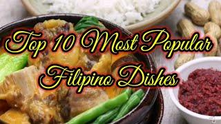 Top 10 Most Popular Filipino Dishes