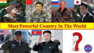 most powerful country in the world,top 10 powerful countries in the world,  powerful country in 2020