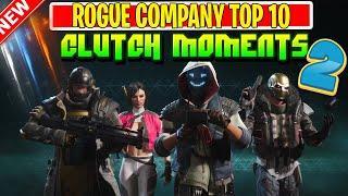 ROGUE COMPANY TOP 10 CLUTCH MOMENTS - Rogue company top plays - WEEK #2