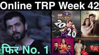 Online TRP of Week 42 | TRP of this Week | Top 10 SHOWS
