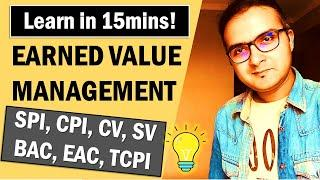 What is EARNED VALUE MANAGEMENT (EVM) in Project Cost Management (2020)? PMP Training Videos   PMBOK