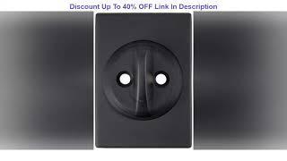 Top 10 Schlage Lock Company Century Single Cylinder Handleset and Latitude Lever, Matte Black (F60