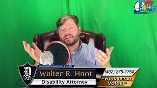 #1 of the top 10 reasons you won't be approved for social security disability benefits.