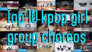 My top 10 favorite kpop choreographies (girl group/female soloist edition)