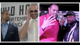 TYSON FURY'S TOP TEN FACE OFFS - THE GYPSY KING'S MOST EXPLOSIVE & TORMENTING OPPONENT MIND GAMES