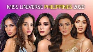 TOP 10 EARLY FAVOURITES - MISS UNIVERSE PHILIPPINES 2020 - WISHLIST CANDIDATES