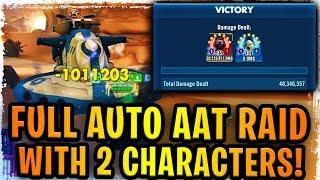 FULL AUTO HEROIC AAT RAID WITH ONLY TWO CHARACTERS! 2020 Best/Fastest Team w/ Supreme Leader Kylo