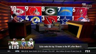THE HERD | Herd Hierarchy: Colin ranks the top 10 teams in the NFL after Week 5: #1 Bills #6 Bucs