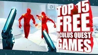 Top 15 Free Oculus Quest Games, Demos & Experiences You Must Play!