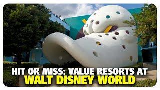 Hit or Miss: Value Resorts at Walt Disney World | Best & Worst | 01/23/20