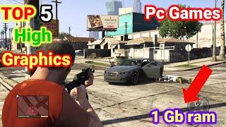 Top 5 High Graphics Games For Low End Pc || 5 Games For Low End Laptop || Scientific Gamer