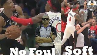 "NBA ""Worst Referee Decisions"" Moments"