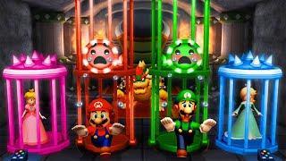 Mario Party The Top 100 MiniGames - Mario Vs Luigi Vs Rosalina Vs Peach (Master Cpu)