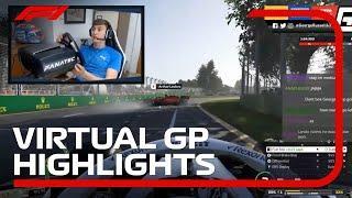 F1 Esports Virtual Grand Prix Highlights | Aramco
