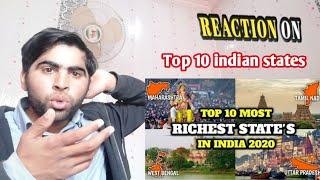 Pak Reaction on Top 10 RICHEST STATES IN INDIA 2020 | pakistani reaction | Richest indian reaction