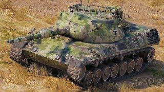 World of Tanks Leopard 1 - 10 Kills 11,7K Damage
