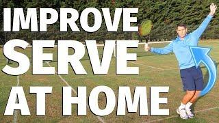 5 Ways To Improve Your Tennis Serve At Home - Tennis Lesson