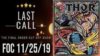 The Last Call: Top 10 FOC (Final Order Cut Off) Comic Books  11/25/19