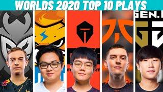 Top 10 Best Plays Worlds 2020 - Group Stage