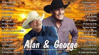 Greatest Classic Country Songs By Alan Jackson & George Strait | Alan Jackson & George Strait 2020