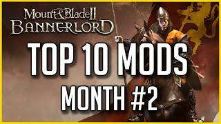 Top 10 Mods To Improve Gameplay - Bannerlord; Month #2