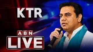 MInister KTR LIVE   Participates in U.S India Defense Ties Conference   ABN LIVE