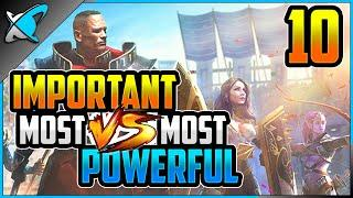 "My Top 10 Most ""IMPORTANT vs POWERFUL"" Champions 