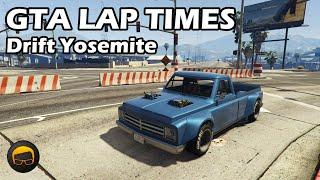 Fastest Muscle Cars (Drift Yosemite) - GTA 5 Best Fully Upgraded Cars Lap Time Countdown
