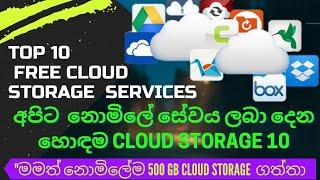 Top 10 Best Free Cloud storage service 2021 That you Should use