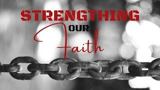"""10am service, Sunday 7th Feb, Strengthening our Faith """"Enduring God's Discipline"""" with Pastor Don"""