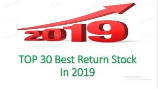 Top 30 Best Return Stock In 2019 | Long Term Investment | Share Market News