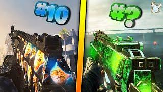 Top 10 BEST DLC Camos in Call of Duty / Ghosts619