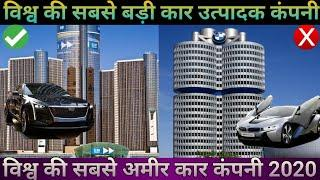 Top 10 largest & richest Car Manufacturing Company in the World | 2020