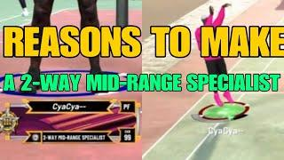 NBA 2K20 TOP 3 REASONS TO MAKE A 2-WAY MID-RANGE SPECIALIST
