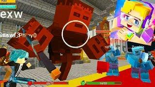 Blockman Go: Sky Block Ep.10 - Fade Boss & Zombies in the Minecraft Mode