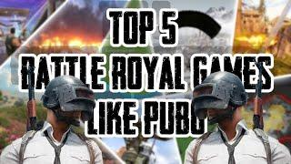Top 10 offline Battle Royale Games for Android 2020 | Like PUBG Mobile !!
