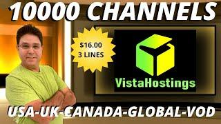 VISTA HOSTING US, CA, LATIN 24 7 LOCALS BEST IPTV SERVICE 2020 TOP TV APP LINK TOP TV APP