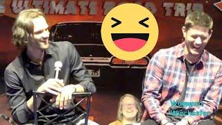 A Fan To Jared Padalecki 'You Look Really Good For Your Age' & Jensen LOSES IT! VegasCon 2020