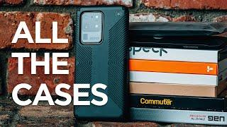Top Samsung Galaxy S20 Ultra Cases - Case Haul Review Video