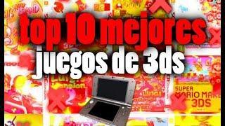 TOP 10 MEJORES JUEGOS DE  3DS |el gamer anonimo| mejores  juegos de 3ds