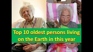 Top 10 oldest person living on the earth.Must watch