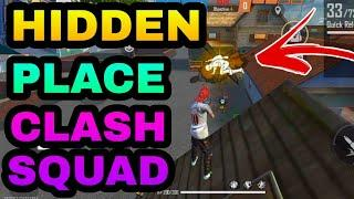 new hidden place in clash squad Top 8 || part 7 || best place for clash squad Barmuda map ||
