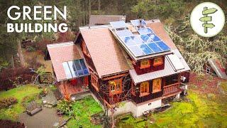 Impressive 100-Mile House Built with Sustainable & Reclaimed Materials - Green Building