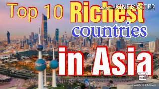 #@knowledge information world#deepak #Top 10 Richest countries in Asia
