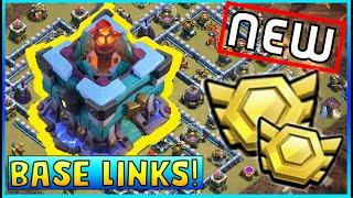 TOWN HALL 13 BASES WITH LINKS - TOP 10 TOWN HALL 13 WAR BASES - TH13 CWL BASE - TH13 WAR BASE