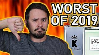 TOP 5 WORST MEN'S DESIGNER FRAGRANCES OF 2019 | THE WORST OF THE WORST