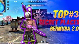bermuda 2.0 hiding place bermuda remastered hidden places FREE FIRE TOP 10 hidden pleace burmuda rem