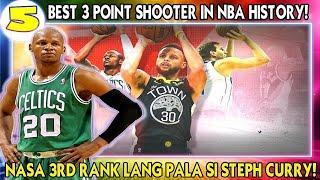 5 Best 3 Point Shooter in NBA History! | Sino Sino kaya ang mga ito?!